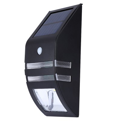 XJ - GY Solar Powered Motion Detect Wall LampOutdoor Lights<br>XJ - GY Solar Powered Motion Detect Wall Lamp<br><br>Powered source: Solar and Battery<br>Light Type: Solar Light<br>Light Color: White<br>Features: Waterproof,Body Induction<br>Total LED: 2<br>Solar Panel : 0.4W<br>Battery Voltage: 3.2V<br>Battery Capacity: 500MA<br>Charging time: 6 hours<br>Working Time: 10 hours<br>Product weight: 0.225 kg<br>Package weight: 0.320 kg<br>Product size (L x W x H): 17.000 x 7.500 x 4.800 cm / 6.693 x 2.953 x 1.890 inches<br>Package size (L x W x H): 18.000 x 9.000 x 6.500 cm / 7.087 x 3.543 x 2.559 inches<br>Package Contents: 1 x Solar Powered Wall Light with PIR Sensor, 1 x English User Manual