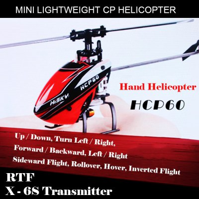 HISKY HCP60 RTF Helicopter with X - 6S Transmitter