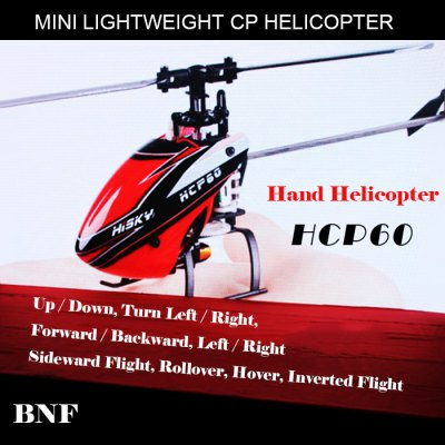 HISKY HCP60 Mini 2.4G 6 Channel 6 Axis Gyro Lightweight Helicopter BNF