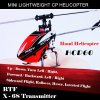 HISKY HCP60 2.4G 6 Channel 6 Axis Gyro Lightweight Helicopter with X - 6S Transmitter Ready-to-fly