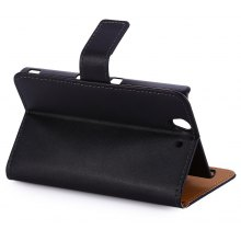 Magnetic Snap Slot Wallet Stand Flip Leather Case Skin for Sony Xperia Z