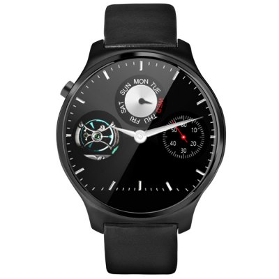 OUKITEL A29 Smartwatch Phone - OUKITELSmart Watch Phone<br>OUKITEL A29 Smartwatch Phone<br><br>Type: Watch Phone<br>CPU: MTK2502<br>External memory: Not Supported<br>Wireless Connectivity: Bluetooth,GSM<br>Network type: GSM<br>Frequency: GSM850/900/1800/1900MHz<br>Bluetooth: Yes<br>Screen type: Capacitive<br>Screen size: 1.22 inch<br>IPS: Yes<br>Screen resolution: 240 x 240<br>Camera type: No camera<br>SIM Card Slot: Single SIM(Micro SIM slot)<br>Picture format: BMP,GIF,JPEG,PNG<br>Music format: AAC,MP3,WAV<br>Languages: English, French, Spanish, Polish, Portuguese, German, Thai, Turkish, Russian, Arabic, Persian<br>Additional Features: Alarm,Bluetooth,Calculator...,Calendar,MP3,People,Sound Recorder<br>Cell Phone: 1<br>Battery: 320mAh<br>Charging Cable: 1<br>English Manual : 1<br>Product size: 4.40 x 4.40 x 1.40 cm / 1.73 x 1.73 x 0.55 inches<br>Package size: 14.60 x 7.60 x 7.80 cm / 5.75 x 2.99 x 3.07 inches<br>Product weight: 0.052 kg<br>Package weight: 0.260 kg