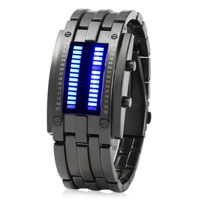 Male Binary LED Watch