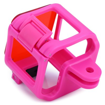 CP-GP316 Diving Filter Lens Frame CageAction Cameras &amp; Sport DV Accessories<br>CP-GP316 Diving Filter Lens Frame Cage<br><br>Apply to Brand: Gopro<br>Compatible with: GoPro Hero 4 Session<br>Accessory type: Frame<br>Material: ABS<br>Product weight: 0.024KG<br>Package weight: 0.078 KG<br>Product size (L x W x H): 4.300 x 5.500 x 5.500 cm / 1.693 x 2.165 x 2.165 inches<br>Package size (L x W x H): 9.000 x 7.000 x 6.500 cm / 3.543 x 2.756 x 2.559 inches<br>Package Contents: 1 x Diving Filter Lens Frame Cage for GoPro Hero 4 Session