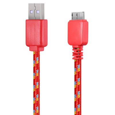 1M Braided Micro Charger Cable