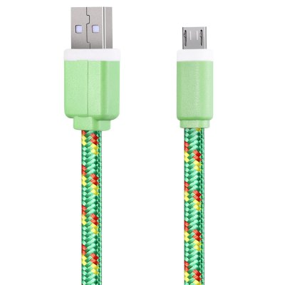 3M Micro USB Flat Braided Charger Cable