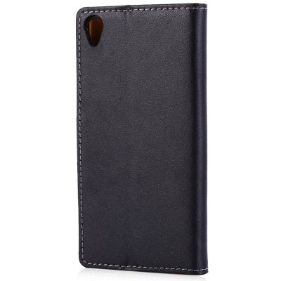 Magnetic Snap Slot Wallet Stand Flip Leather Case Skin for Sony Xperia Z3