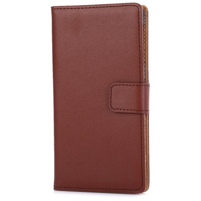 Magnetic Snap Slot Wallet Stand Flip Leather Case Skin for Sony Xperia Z1