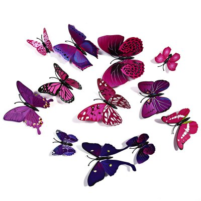3D Butterfly Wall Stickers Art Decorations
