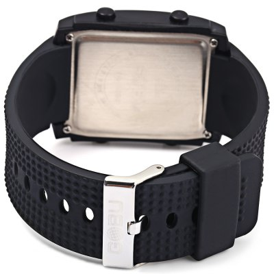 Gobu 1586 Big Digital Multifunctional LED Sports Watch