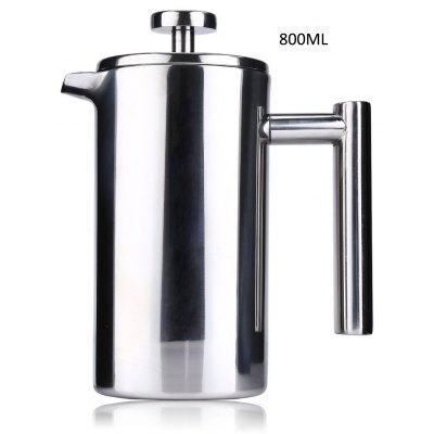 800ML Stainless Steel Cafetiere