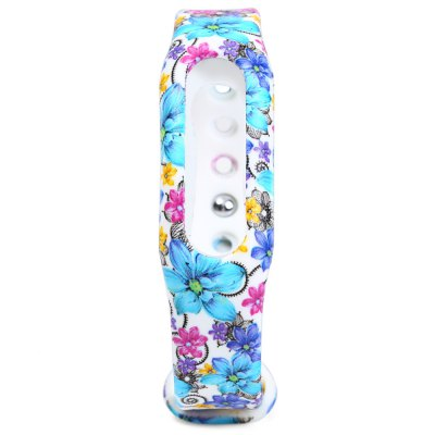 Rubber Strap Small Floral Band for Xiaomi Miband / 1SSmart Watch Accessories<br>Rubber Strap Small Floral Band for Xiaomi Miband / 1S<br><br>Type: Smart watch / wristband band<br>Vailable brand: XiaoMi<br>Features: Floral pattern design<br>Material: Rubber<br>Color: Blue,Orange,Black,White<br>Product weight: 0.010 kg<br>Package weight: 0.030 kg<br>Product size (L x W x H): 23.000 x 1.700 x 0.700 cm / 9.055 x 0.669 x 0.276 inches<br>Package size (L x W x H): 24.000 x 2.700 x 1.700 cm / 9.449 x 1.063 x 0.669 inches<br>Package Contents: 1 x Strap for Xiaomi Miband