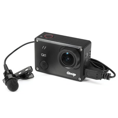 Mini USB Microphone for GitUp Git1 / GoPro Hero 3+ / 4 Action Camera