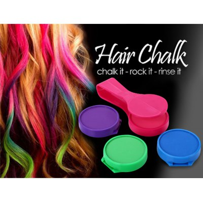 Practical 4 Color Instant Hair Chalk CompactHair Care<br>Practical 4 Color Instant Hair Chalk Compact<br><br>Category: Hair Dye Chalk<br>Material: Plastic<br>Season: All seasons<br>Occasion: Daily<br>Application: Hair<br>Product weight: 0.1020 kg<br>Package weight: 0.1600 kg<br>Product size (L x W x H): 12.00 x 5.00 x 2.30 cm / 4.72 x 1.97 x 0.91 inches<br>Package size (L x W x H): 24.00 x 14.50 x 3.60 cm / 9.45 x 5.71 x 1.42 inches<br>Package Contents: 1 x Clip, 4 x Hair Chalk