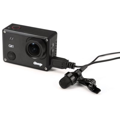 Mini USB Microphone for GitUp Git1 / Git2 / GoPro Hero 3+ / 4 Action CameraAction Cameras &amp; Sport DV Accessories<br>Mini USB Microphone for GitUp Git1 / Git2 / GoPro Hero 3+ / 4 Action Camera<br><br>Accessory type: Microphone<br>Apply to Brand: GitUp,Gopro<br>Compatible with: Gitup Git2, Gopro Hero 3 Plus, Gopro Hero 4<br>Extened Length(cm): 120<br>For Activity: General Sports<br>Length Range(cm): 120<br>Package Contents: 1 x 1.2M Mini USB Microphone<br>Package size (L x W x H): 12.00 x 5.00 x 5.00 cm / 4.72 x 1.97 x 1.97 inches<br>Package weight: 0.0700 kg<br>Product weight: 0.0180 kg
