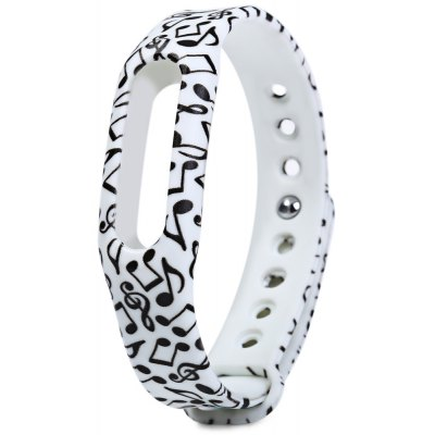 Rubber Strap Small Floral Band
