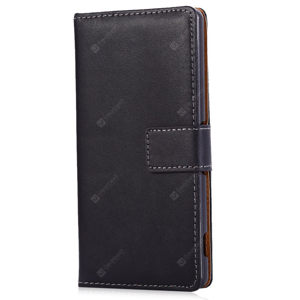 Magnetic Snap Slot Wallet Stand Flip Leather Case Skin for Sony Xperia Z2