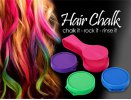 Practical 4 Color Instant Hair Chalk Compact