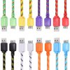 1M Braided Micro Charger Cable photo