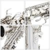best Practical LADE Alto Eb Saxophone High Quality Instrument Gift