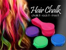 cheap Practical 4 Color Instant Hair Chalk Compact