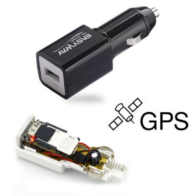 EASYWAY Car Charger GPS Vehicle Tracker