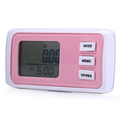 HC-061 3D Pedometer with 7 Days Memory FunctionFeatured Sports Products<br>HC-061 3D Pedometer with 7 Days Memory Function<br><br>Model: HC-061<br>Type: Pedometer<br>Color: Red,Blue,Pink,Black<br>Battery Model: CR2025<br>Product weight: 0.021 kg<br>Package weight: 0.055 kg<br>Product Size(L x W x H): 7.000 x 3.400 x 1.800 cm / 2.756 x 1.339 x 0.709 inches<br>Package Size(L x W x H): 6.800 x 3.500 x 5.000 cm / 2.677 x 1.378 x 1.969 inches<br>Package Content: 1 x HC-061 3D Pedometer, 1 x CR2025 Button Battery, 1 x Chinese English User Manual