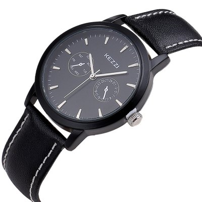 KEZZI BSL836 Male Japan Quartz Watch with Leather BandMens Watches<br>KEZZI BSL836 Male Japan Quartz Watch with Leather Band<br><br>Brand: Kezzi<br>Watches categories: Male table<br>Watch style: Fashion<br>Available color: Coffee,Black<br>Movement type: Quartz watch<br>Shape of the dial: Round<br>Display type: Analog<br>Case material: Stainless Steel<br>Band material: Leather<br>Clasp type: Pin buckle<br>The dial thickness: 1.0 cm / 0.39 inches<br>The dial diameter: 4.0 cm / 1.57 inches<br>The band width: 1.9 cm / 0.75 inches<br>Product weight: 0.045KG<br>Package weight: 0.075 KG<br>Product size (L x W x H): 24.500 x 4.000 x 1.000 cm / 9.646 x 1.575 x 0.394 inches<br>Package size (L x W x H): 25.500 x 5.000 x 2.000 cm / 10.039 x 1.969 x 0.787 inches<br>Package Contents: 1 x KEZZI BSL836 Watch