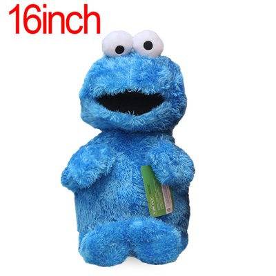 XING TING Animation Sesame Street Cookie Monster Action Figure Doll