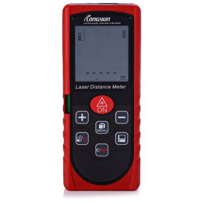Longyun L40 40m Laser Distance MeterLaser Rangefinder, Electronic Distance Meter<br>Longyun L40 40m Laser Distance Meter<br><br>Brand: Longyun<br>Model: L40<br>Material: ABS<br>Detection Range (Meter): 0-40<br>Application: Constructions / Industries<br>Certificate: CE,FCC<br>Product weight: 0.136 kg<br>Package weight: 0.258 kg<br>Product size (L x W x H): 12.000 x 4.800 x 2.300 cm / 4.724 x 1.890 x 0.906 inches<br>Package size (L x W x H): 17.500 x 12.500 x 4.300 cm / 6.890 x 4.921 x 1.693 inches<br>Package Contents: 1 x Longyun L40 40m Laser Distance Meter, 1 x Bag, 1 x String, 1 x Chinese Manual