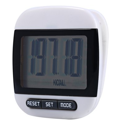 667 Square-shaped Electrical Pedometer Auto Power-off