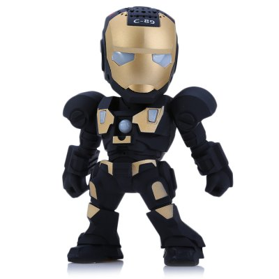 C-89 Iron Man Portable Bluetooth Music Speaker