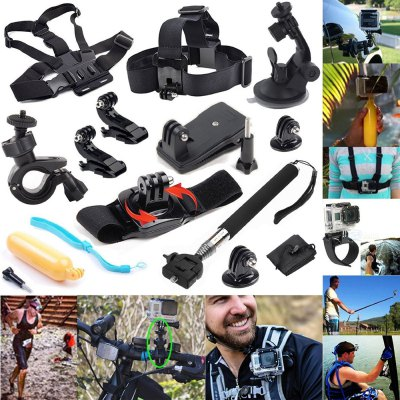 13PCS Universal Action Camera Accessory Kit