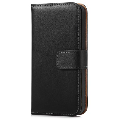 Magnetic Snap Slot Wallet Stand Flip Leather Case Skin for iPhone 5 / 5S / SE