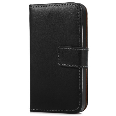 Magnetic Snap Slot Wallet Stand Flip Leather Case Skin for iPhone 4 / 4S