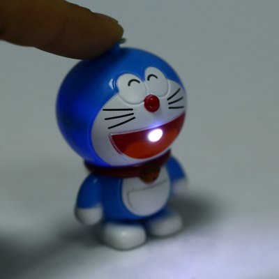 Doraemon Style Key RingDoraemon Style Key Ring<br><br>Type: Key Chain<br>Feature: Voice and Light Control<br>Material: Electronic Components<br>Product weight: 0.017 kg<br>Package weight: 0.040 kg<br>Product size (L x W x H): 8.000 x 6.000 x 4.000 cm / 3.150 x 2.362 x 1.575 inches<br>Package size (L x W x H): 9.000 x 7.000 x 5.000 cm / 3.543 x 2.756 x 1.969 inches<br>Package Contents: 1 x Key Chain