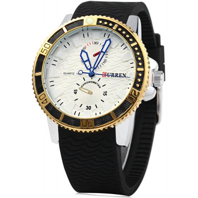CURREN 8172 Male Quartz Watch