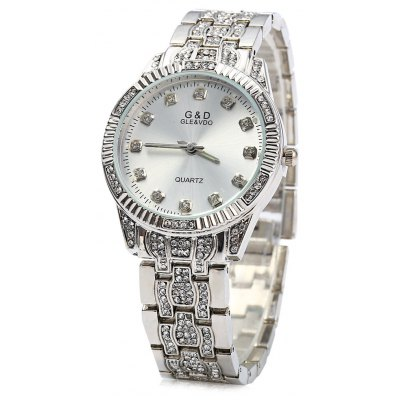 GND M182 Lady Luxury Wristwatch Diamond Quartz Watch