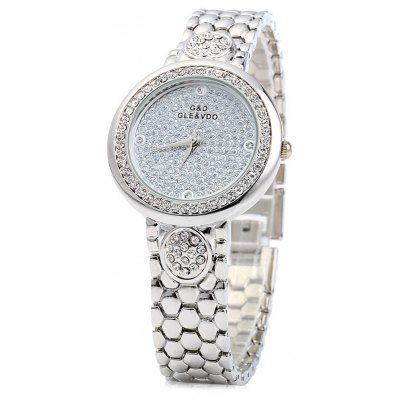 GND M180 Luxury Diamond Female Quartz Wrist Watch