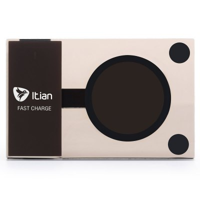 ITian A10 Qi Wireless Charger Transmitter for Samsung S6 Edge Plus / Note 5