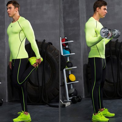 Vansydical Male Slender Thickened Exercising Pants