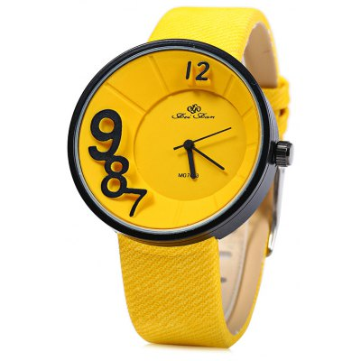 Feifan 62070 Colorful Leather Band Lady Quartz Watch