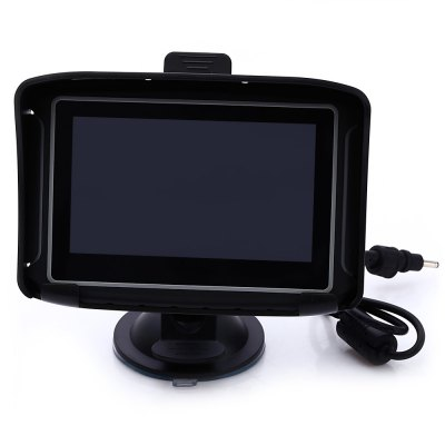 4.3 inch Motorcycle Car GPS NavigationCar GPS &amp; Accessories<br>4.3 inch Motorcycle Car GPS Navigation<br><br>Type: GPS<br>CPU: MSB2531<br>Function: FM radio,Navigation,Language selection,Bluetooth,E-book,Flash<br>Operating system: Microsoft Windows CE 6.0<br>Language: Hungarian,Polish,Romanian,English,French,Spanish,Russian,German,Finnish<br>Color: Black<br>ROM: 8G<br>RAM: 128MB<br>Memory card support: SD card<br>External memory card  : SD 32G (not included)<br>Screen size: 4.3inch<br>Port: 3.5mm AV interface,Mini USB port,Battery charging port (DC 5V),SD Card Slot<br>Charging way: Car charger<br>Input: DC 12V<br>Output: DC 5V / 1.5A, via USB<br>Battery: Non-removable rechargeable Li-Polymer battery, 1900mAh<br>Screen resolution: 480 x 272<br>Touch-screen: Yes<br>Operating temperature : -10 - 60 deg.c<br>Storage temperature : -20 - 80 deg.c<br>Product weight: 0.215KG<br>Package weight: 0.900 KG<br>Product size (L x W x H): 13.00 x 8.50 x 2.00 cm / 5.12 x 3.35 x 0.79 inches<br>Package size (L x W x H): 19.50 x 14.00 x 11.50 cm / 7.68 x 5.51 x 4.53 inches<br>Package Contents: 1 x Waterproof 4.3 inch Motorcycle Car GPS Navigation, 1 x Mount for Motorcycle, 1 x Mount for Car, 1 x Cradle, 1 x USB Cable (1m), 1 x Car Charger (1m), 1 x Power Cable (1m), 1 x English User Manual