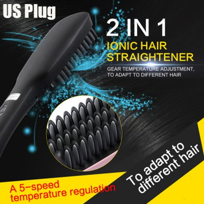 MX-1699 2 in 1 Electric Ionic Hair Straightener