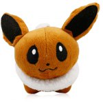 XING TING Animation 5 inch Pokemon Q Version Eevee Feature Plush Toy Home Office Decor
