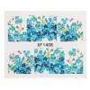 Buy 1 Sheet Water Transfer Sticker Nail Wraps Temporary Tattoos Watermark Tools XF1408