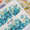 1 Sheet Water Transfer Sticker Nail Wraps Temporary Tattoos Watermark Nail Tools for sale