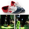 cheap A90 Unisex LED Shoes USB Charging Warm Keeping