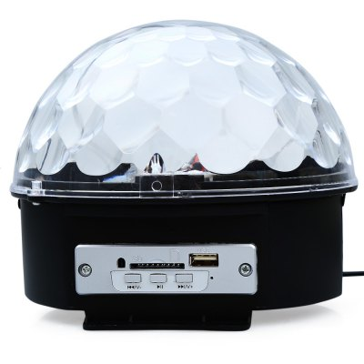 10 - 25W RGB DJ Disco Light MP3 Stage Laser LightStage Lighting<br>10 - 25W RGB DJ Disco Light MP3 Stage Laser Light<br><br>Type: DJ and Disco Light,LED Effects Stage Light,RGB Stage Light<br>Laser Color: RGB Light<br>Output Power (W): 10 - 25W<br>Voltage type: AC 85-265V<br>Function: For Decoration,For party<br>Shape: Ball Light<br>Body Color: Black<br>Material: Plastic<br>Product weight: 0.427 kg<br>Package weight: 0.600 kg<br>Product Size(L x W x H): 17.50 x 16.80 x 16.00 cm / 6.89 x 6.61 x 6.30 inches<br>Package size (L x W x H): 18.00 x 18.00 x 17.00 cm / 7.09 x 7.09 x 6.69 inches<br>Package Contents: 1 x RGB Ball Light, 1 x Remote Controller, 1 x USB Disk