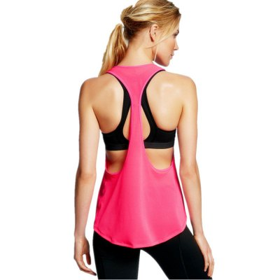 Female O-neck Sleeveless Loose Exercising VestWeight Lifting Clothes<br>Female O-neck Sleeveless Loose Exercising Vest<br><br>Types: Hoodies and Vest<br>Size: S,M,L,XL<br>Features: Breathable<br>Gender: Women<br>Color: Blue,Rose Red,Pink,Black,White<br>Product weight: 0.140 kg<br>Package weight: 0.170 kg<br>Package size: 25.000 x 22.000 x 2.000 cm / 9.843 x 8.661 x 0.787 inches<br>Package Content: 1 x Female Sleeveless Exercising Vest